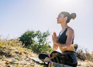 Quick yoga routine