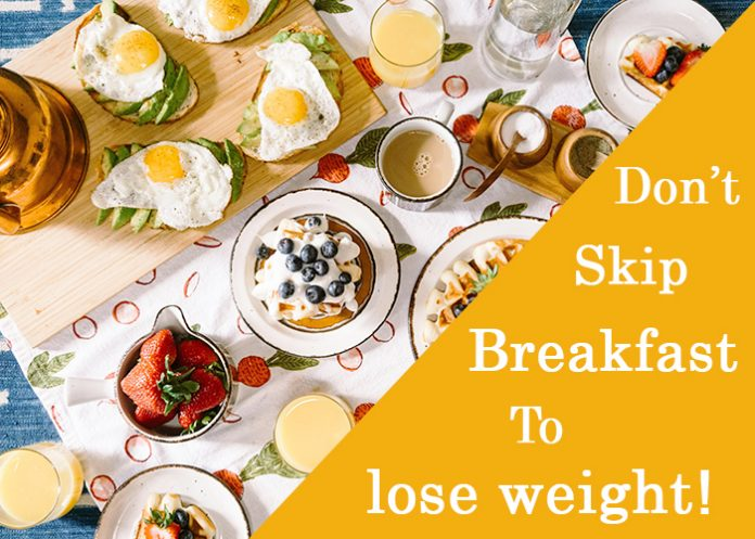 eating breakfast to lose weight