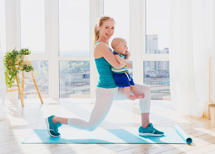 quick exercises for busy moms